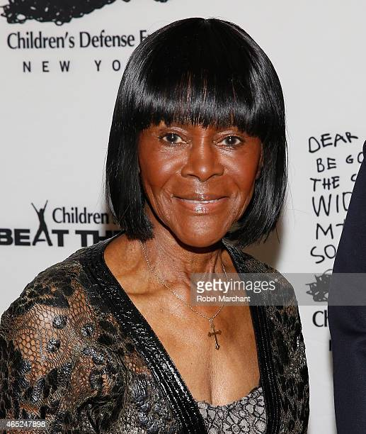 Cicely Tyson attends 2015 'Beat The Odds' Gala at The Pierre Hotel on March 4 2015 in New York City