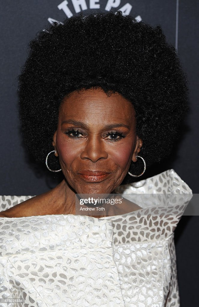 Cicely Tyson attends A Tribute To African-American Achievements In Television hosted by The Paley Center For Media at Cipriani Wall Street on May 13, 2015 in New York City.