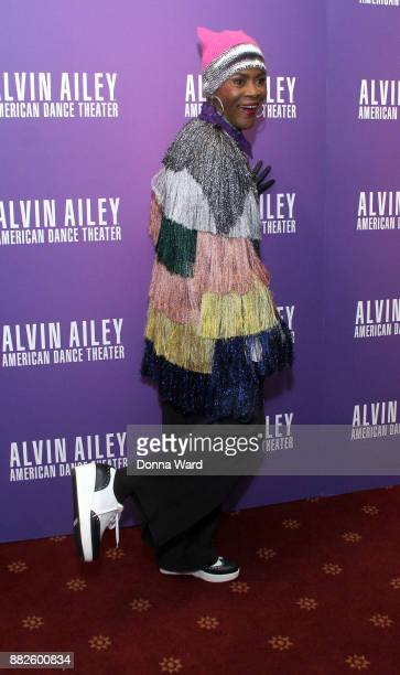 Cicely Tyson attends Alvin Ailey's 2017 Opening Night Gala at New York City Center on November 29 2017 in New York City