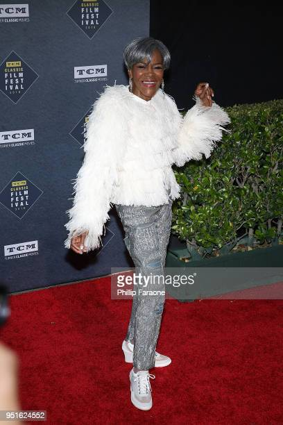 Cicely Tyson attends the 2018 TCM Classic Film Festival Opening Night Gala 50th Anniversary World Premiere Restoration of The Producers at TCL...
