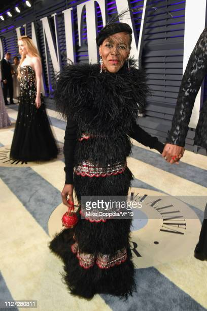 Cicely Tyson attends the 2019 Vanity Fair Oscar Party hosted by Radhika Jones at Wallis Annenberg Center for the Performing Arts on February 24 2019...