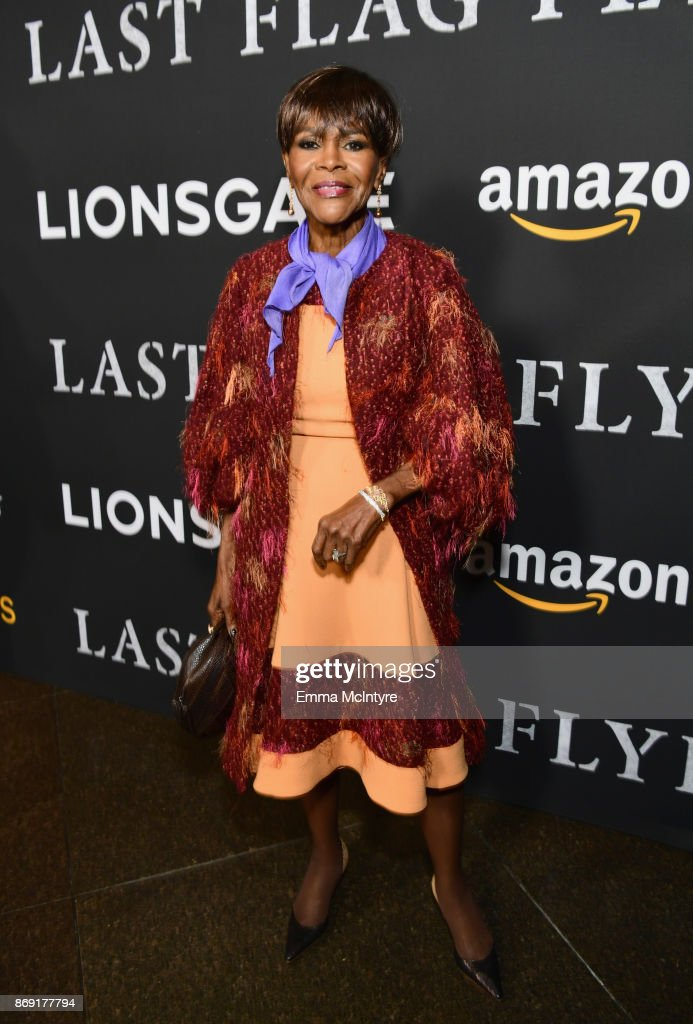 Cicely Tyson attends the premiere of Amazon's 'Last Flag Flying' at DGA Theater on November 1, 2017 in Los Angeles, California.