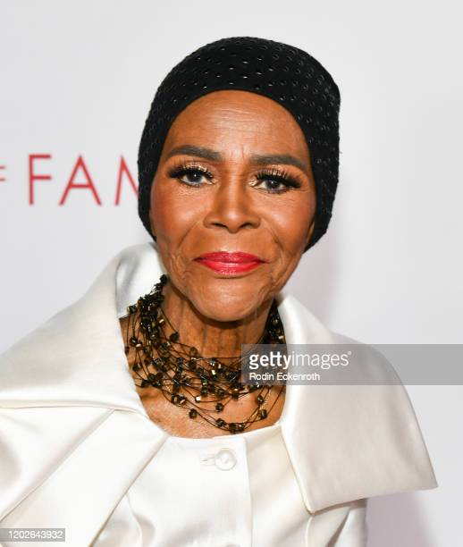 Cicely Tyson attends the Television Academy's 25th Hall Of Fame Induction Ceremony at Saban Media Center on January 28, 2020 in North Hollywood,...