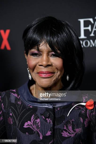 """Cicely Tyson attends Tyler Perry's """"A Fall From Grace"""" New York premiere at Metrograph on January 13, 2020 in New York City."""