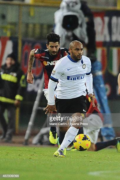 Cicero Jonathan of Internazionale Milano in action during the Serie A match between Bologna FC and FC Internazionale Milano at Stadio Renato Dall'Ara...