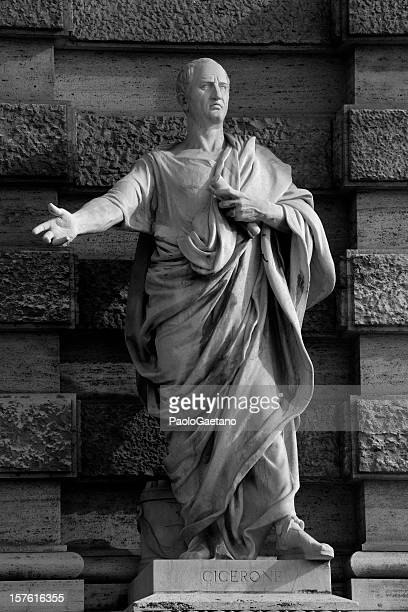 cicero - the great speaker - ancient rome stock pictures, royalty-free photos & images