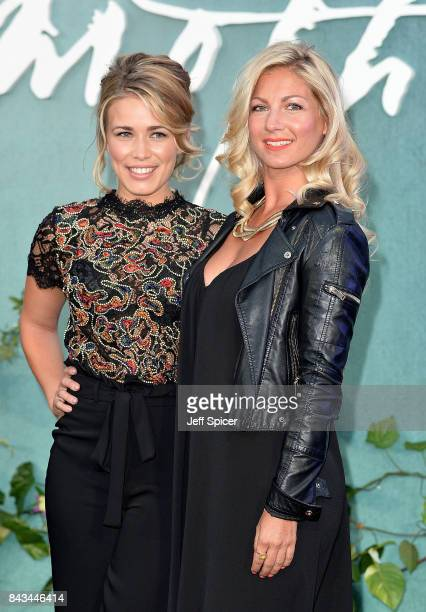 CiCi Coleman and Laura Tott attend the 'Mother' UK premiere at Odeon Leicester Square on September 6 2017 in London England