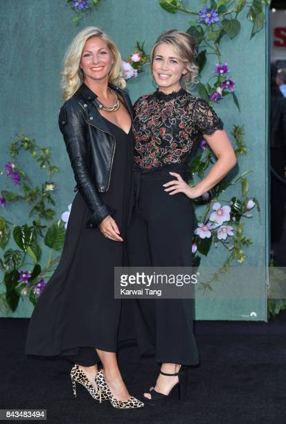 CiCi Coleman and Laura Tott attend the UK Premiere of 'Mother' at the Odeon Leicester Square on September 6 2017 in London England