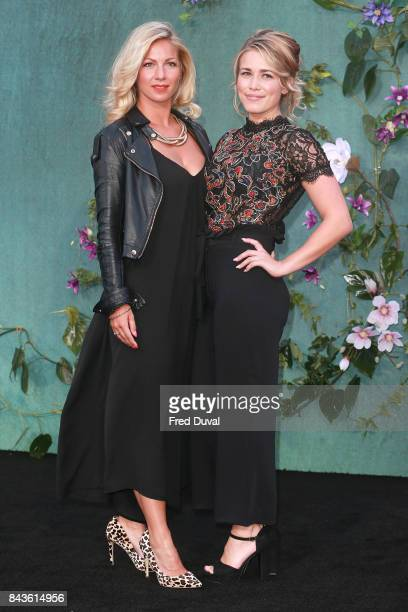 Cici Coleman and Laura Tott attends the 'Mother' UK premiere at Odeon Leicester Square on September 6 2017 in London England