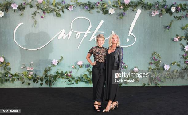 CiCi Coleman Laura Tott attend the 'Mother' UK premiere at Odeon Leicester Square on September 6 2017 in London England