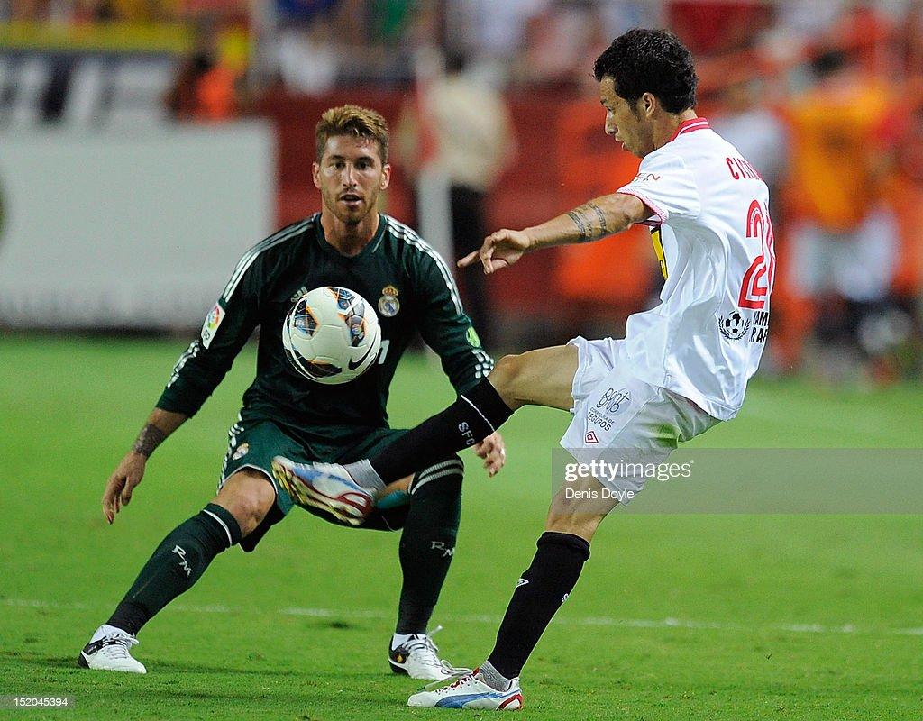 Sevilla FC v Real Madrid CF - La Liga : News Photo