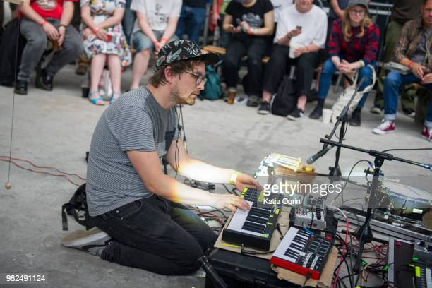 Cico Beck and Nico Sierig of Joasinho perform on stage during Supersonic Festival on June 23 2018 in Birmingham England