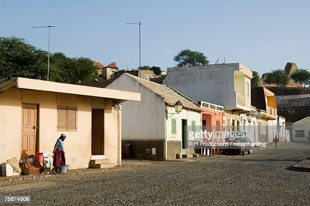 cidade velha, santiago, cape verde islands, africa - cabo verde fotografías e imágenes de stock
