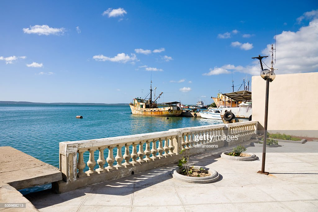 Cienfuegos harbor, Cuba : Stock Photo