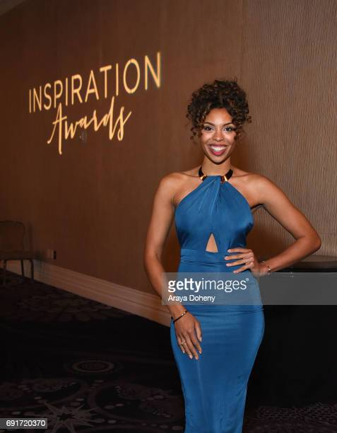 Ciera Payton attends the 14th Annual Inspiration Awards at The Beverly Hilton Hotel on June 2 2017 in Beverly Hills California