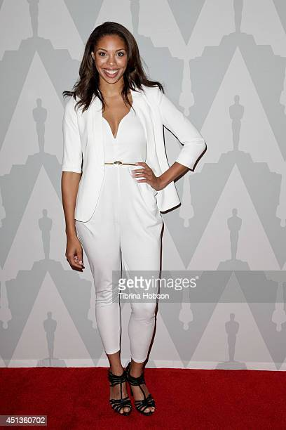 Ciera Payton attends the 25th anniversary screening of 'Do The Right Thing' presented by The Academy at Bing Theatre At LACMA on June 27 2014 in Los...