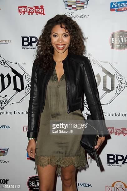 Ciera Payton attends the 7th Annual Manifest Your Destiny Toy Drive Fundraiser at Avalon on December 1 2014 in Hollywood California