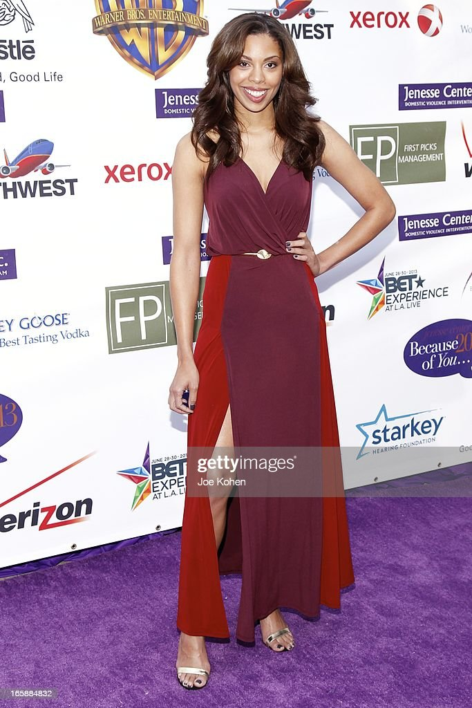 Ciera Payton attends the Jenesse Silver Rose Gala and Auction at Vibiana on April 6, 2013 in Los Angeles, California.