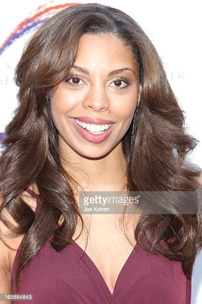 Ciera Payton attends the Jenesse Silver Rose Gala and Auction at Vibiana on April 6 2013 in Los Angeles California