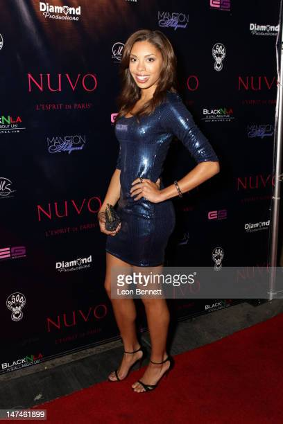 Ciera Payton attends the Jermaine Dupri Hosts 6th Annual PreBET Producer's Ball at Mansion Hollywood on June 29 2012 in Hollywood California