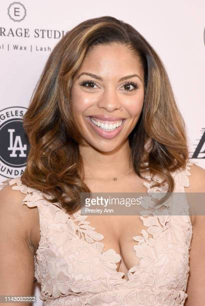 Ciera Payton attends The LadyLike Foundation Women Of Excellence Luncheon at The Beverly Hilton Hotel on May 11 2019 in Beverly Hills California