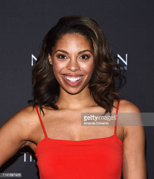 Ciera Payton attends the launch celebration of Nobleman Magazine's Issue at Timothy Oulton Los Angeles Showroom on April 09 2019 in Los Angeles...