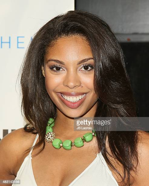 Ciera Payton attends the screening of 'The Runner' held at TCL Chinese 6 theatres on August 5 2015 in Hollywood California