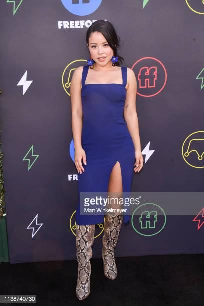 Cierra Ramirez attends the 2nd Annual Freeform Summit at Goya Studios on March 27 2019 in Los Angeles California