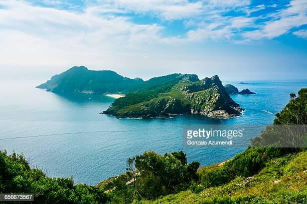Cies Island in Rias Baixas