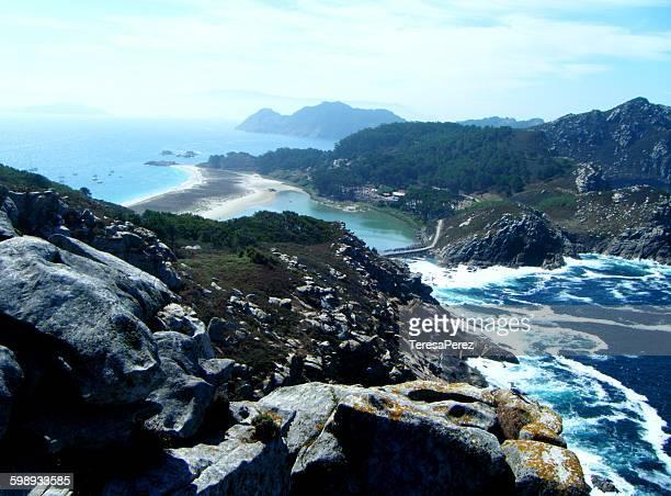 Cies Islands in Atlantic Ocean National Park