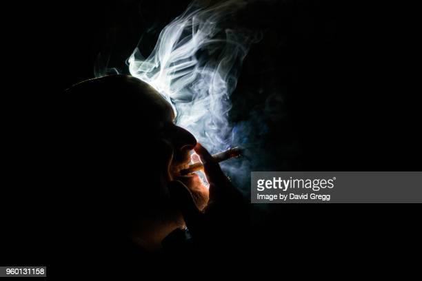 Cigar Smoke Dances in the Light 1