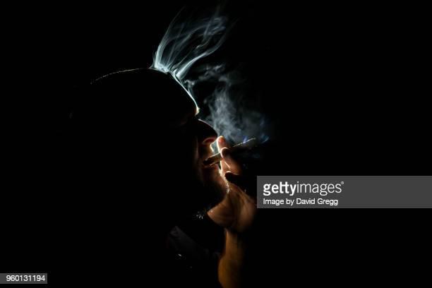 Cigar Smoke Dances in the Light 4