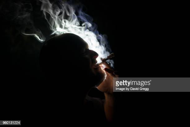 Cigar Smoke Dances in the Light 5