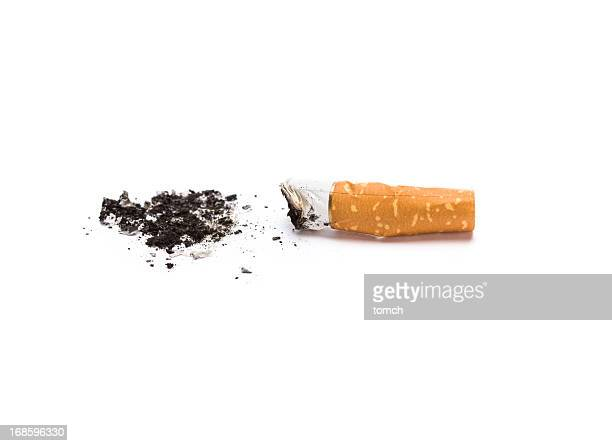 cigarette butt - cigarette stock pictures, royalty-free photos & images