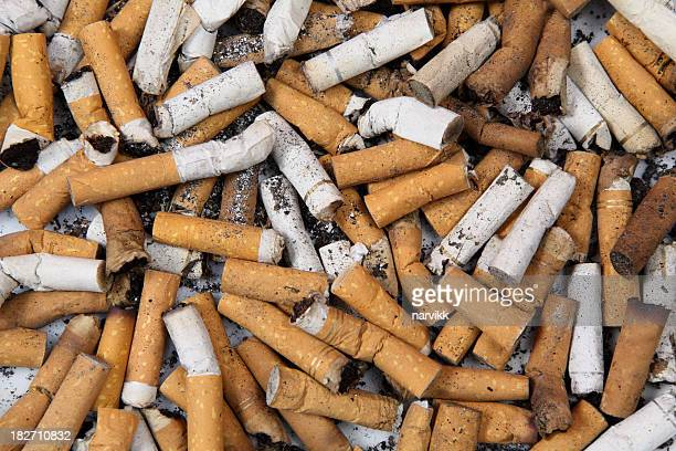 Cigarette Butts Background
