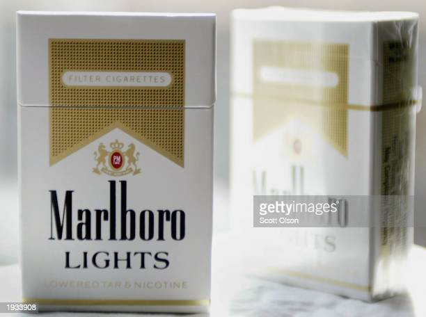 Cigarette maker Phillip Morris USA announced it has started removing the controversial words lowered tar and nicotine from packages of Marlboro...