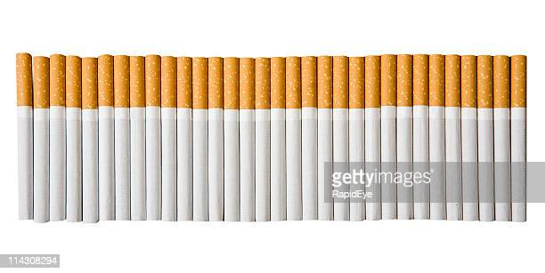 cigarettes - emphysema stock photos and pictures
