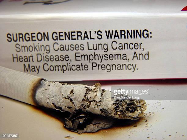 Cigarettes - Warning