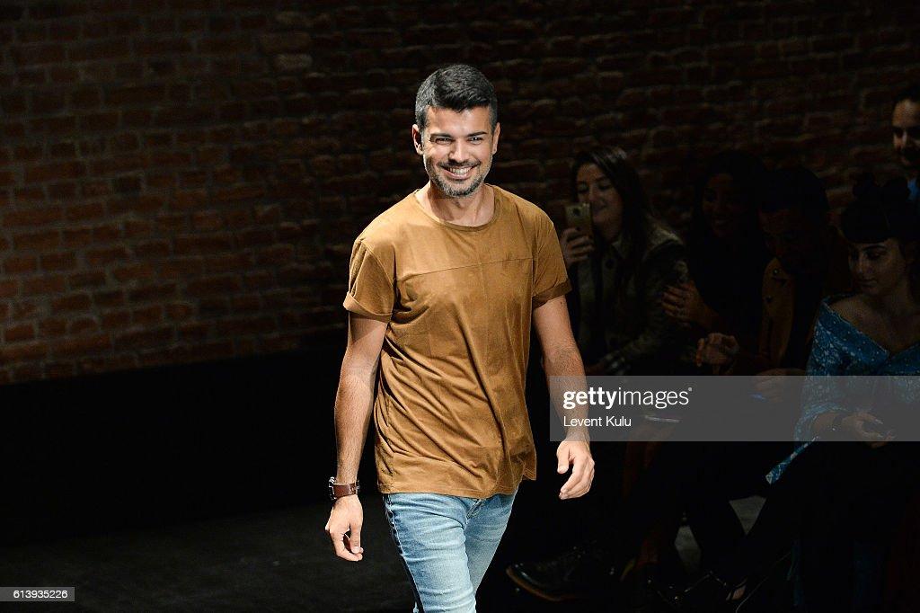 Cihan Nacar - Runway - Mercedes-Benz Fashion Week Istanbul - October 2016