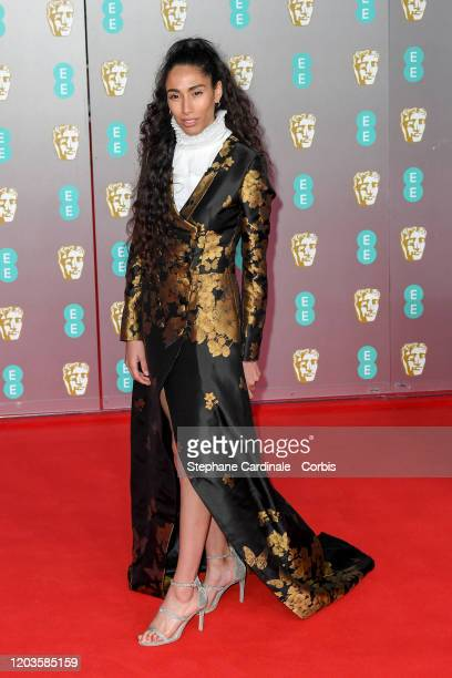 Ciinderella Balthazar attends the EE British Academy Film Awards 2020 at Royal Albert Hall on February 02 2020 in London England