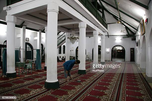 Cikini Al Ma'mur Mosque in Jakarta Indonesia on 24 November 2016 was built in 1860 by famous painter RADEN SALEH The mosque was planned to be...