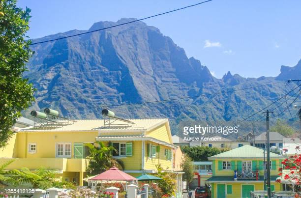 cilaos, la reunion island. - creole culture stock pictures, royalty-free photos & images