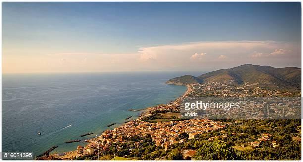 cilentana coast - diane cilento stock-fotos und bilder