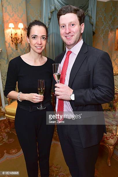 Cilia de Lencquesaing and Garrette Deutsch attend Jean Martin Shafiroff Host a Champagne Tasting with PierreEmmanuel Taittinger for Young Friends of...