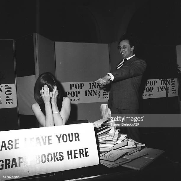 Cilla Black and Ken Dodd appear on BBC radio show Pop Inn London 1965