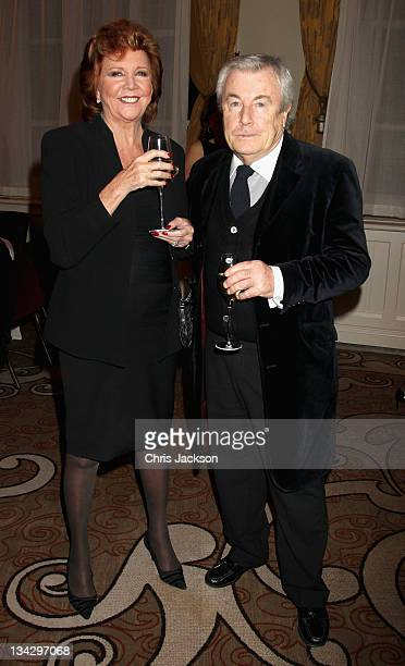 Cilla Black and Terry O'Neil attend Hidden Gems Photography Gala Auction in support of Variety Club at St Pancras Renaissance Hotel on November 30,...