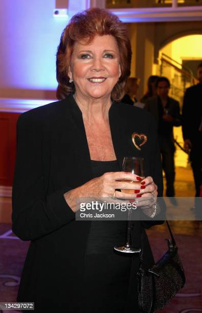 Cilla Black attends Hidden Gems Photography Gala Auction in support of Variety Club at St Pancras Renaissance Hotel on November 30 2011 in London...