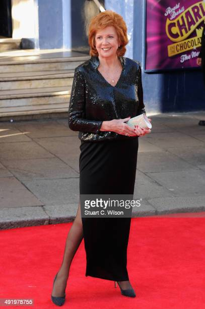 Cilla Black attends the Arqiva British Academy Television Awards at Theatre Royal on May 18 2014 in London England