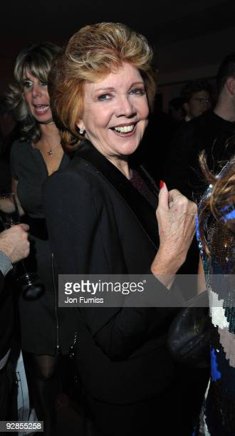 Cilla Black attends the book launch party for Nicky Haslam's autobiography 'Redeeming Features' on November 5 2009 in London England