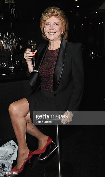 Cilla Black attends the Mulberry designs for Apple After Party at Aqua Kyoto on November 5 2009 in London England